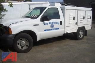2005 Ford F250 Swab Kennel Pickup