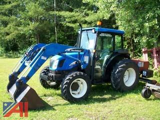 2006 New Holland TN60 Tractor w/ Front Loader