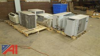 (8) Assorted Air Conditioning Units