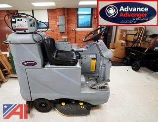 Advance Avenger #2810D-AXP Ride On Floor Scrubber