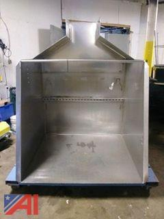 Ensign Stainless Steel Hydraulic Dump Hopper
