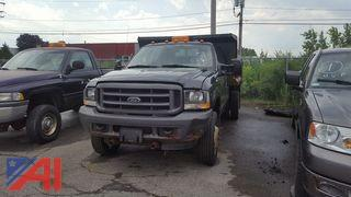 2004 Ford F550 XL Super Duty Dump Truck