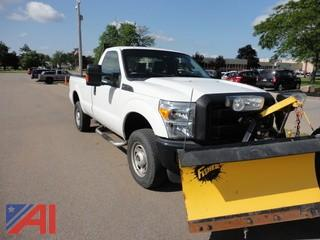 2013 Ford F250 4x4 Pickup w/Plow