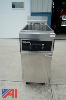Hobart Electric Floor Fryer with Digital Controls-NEVER USED