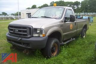 2004 Ford F250 4x4 Pickup