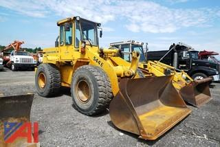 1992? John Deere 544E 4WD Wheel Loader