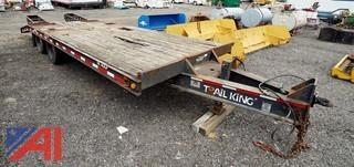 2000 Trail King TK 40 LP Twin Axle Trailer