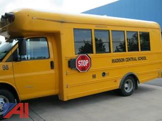 2011 Chevrolet Express School Bus