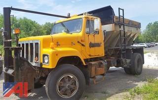 1990 International 2574 Dump/Salter Truck