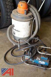 Black & Decker Wet/Dry Vac and More