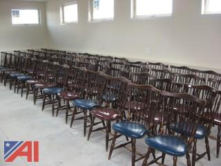 (52) Sturdy Wooden Chairs