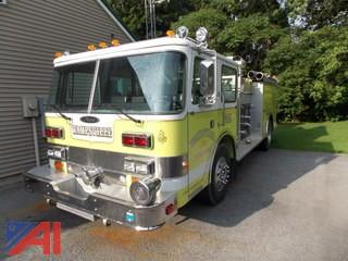 **Hoses and Fittings are in Lot 2** 1985 Pierce Arrow E2624 Pumper Fire Truck