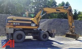 2001 Caterpillar M315 Wheeled Excavator