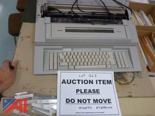 Olivetti ET 2450 MD Electric Typewriter (#1263)
