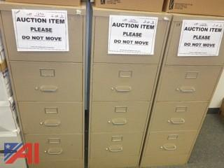 (3) File Cabinets, Legal (#1290)
