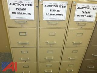 (3) File Cabinets, Standard (#1295)