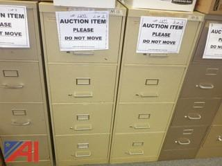 (3) File Cabinets, Legal (#1297)
