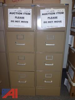(2) File Cabinets, Standard (#1298)