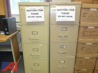 (2) File Cabinets, Legal (#1300)