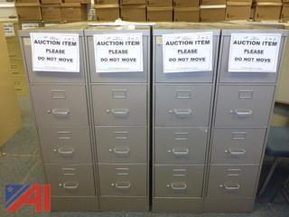 (4) File Cabinets, Standard (#1301)
