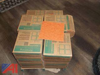 (16) Boxes of Armstrong Floor Tile