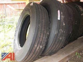 (2) New Goodyear Steer Tires