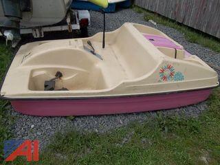 Water Wheeler Pedal Boat