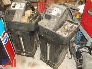 (2) Wynn Transmission Flush Machines