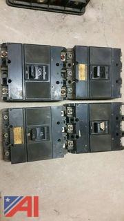 Lot of Used Westinghouse Breakers