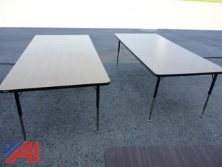 Lot of Assorted Tables