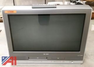 TV & Chalkboard