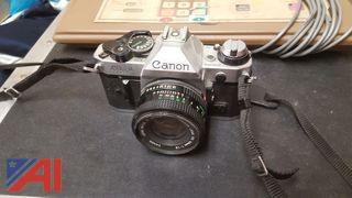 Canon 35mm AE1 Camera