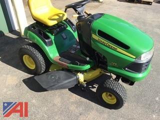 2007 John Deere 125 Lawn Tractor