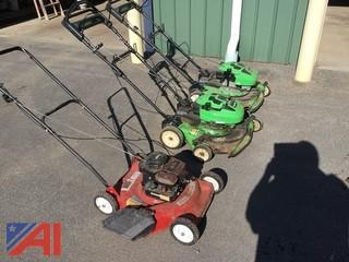 """(3)  20"""" Lawn Mowers"""