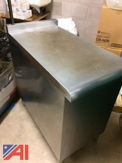 Stainless Steel Table Counter Extension
