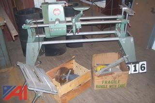 Shop Smith Lathe with Table Saw Attachment