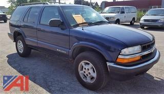 2001 Chevrolet Blazer Suburban