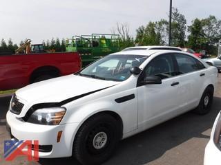 2013 Chevrolet Caprice 4 Door/Police