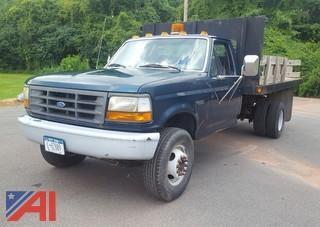 1997 Ford F450 Super Duty Stake Rack/Dump Truck