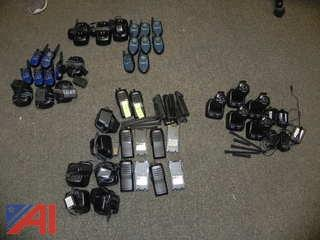 (25) Various 2 Way Radios with Chargers