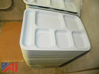 (200) Cafeteria Trays