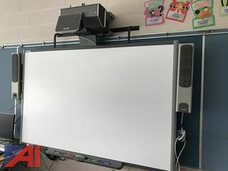 (5) Smart boards with projectors