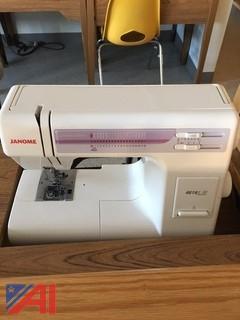 (3) Janome Sewing Machines