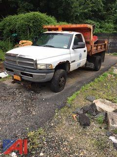 **Lot Updated** 2001 Dodge 3500 Dump Truck with Plow