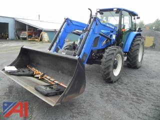 2008 New Holland TL100ADT Tractor with Loader