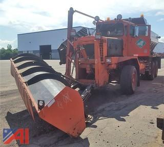 1988 Oshkosh P2546SP 6x6 Salter/Plow Truck