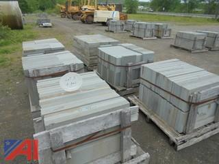 """(6)Pallets Thermal Bluestone 2"""" Thick 12"""" Asst."""