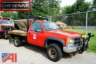 1998 Chevy 2500 Flatbed & S/S Spreader/T35