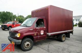 2003 Ford E350 SD Cargo Box/Van Truck/T48