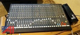 Soundcraft K1 Style 26-Channel Mixing Board & Power Supply